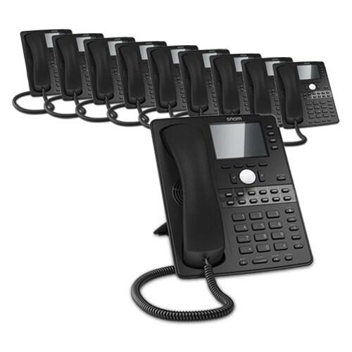 Snom D765 (10-Pack) D765 Desk Telephone
