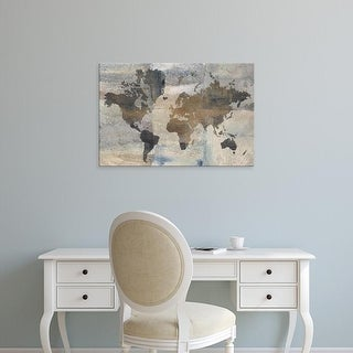 Easy Art Prints Avery Tillmon's 'Stone World' Premium Canvas Art