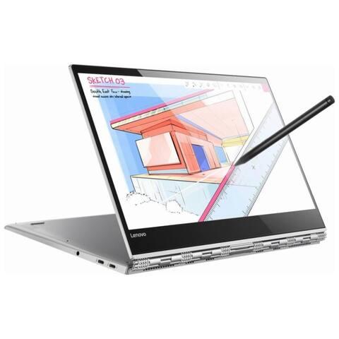 Lenovo Yoga 920 13.9-in Refurb Laptop - Intel i7 8th Gen 1.80 GHz 8GB 256GB SSD Win 10 Home - Bluetooth, Webcam, Touchscreen
