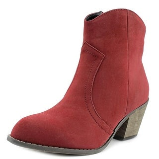 Nomad Sundance Pointed Toe Synthetic Bootie