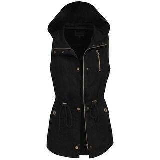 NE PEOPLE Womens Anorak Style Vest [NEWV1080]