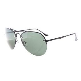 Eyekepper Half-rim Pilot Style Polarized Lens Sunglasses G15