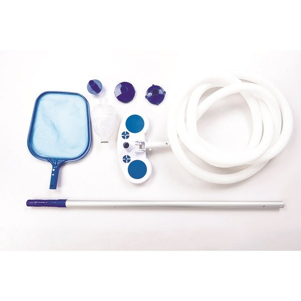 Shop Deluxe Swimming Pool Cleaning And Maintenance Kit Free Shipping Today
