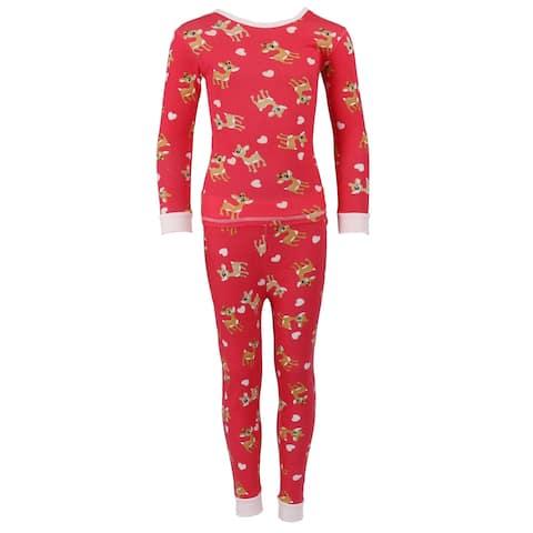 Cozy Couture Children's Long Sleeve 2 Piece Pajama Set