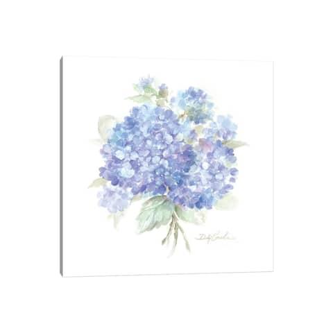 "iCanvas ""Hydrangeas I"" by Debi Coules Canvas Print"