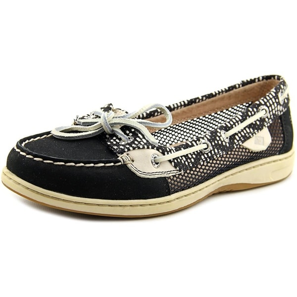 Sperry Top Sider Angelfish Tribal Moc Toe Leather Boat Shoe