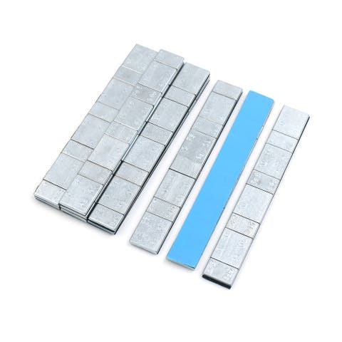 2.1oz Adhesive Back Wheel Balance Weights Strips for Motorcycle 134 x 18mm 10pcs