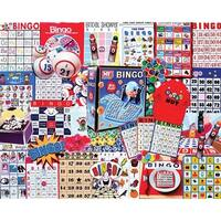 """Jigsaw Puzzle 1000 Pieces 24""""X30""""-Bingo"""