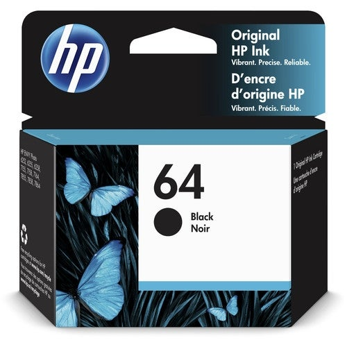 """HP 64 Black Original Ink Cartridge Ink Cartridge"""