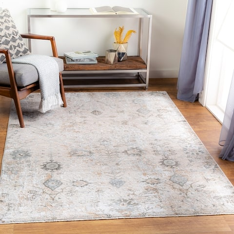 Phloque Transitional Floral Area Rug