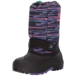 Kamik Kids' Rocket2 Snow Boot (Option: Purple/Pink - 9 medium us toddler)