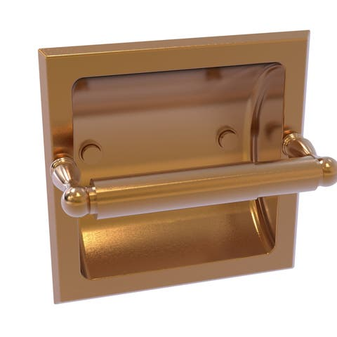 Allied Brass Regal Collection Recessed Toilet Tissue Holder