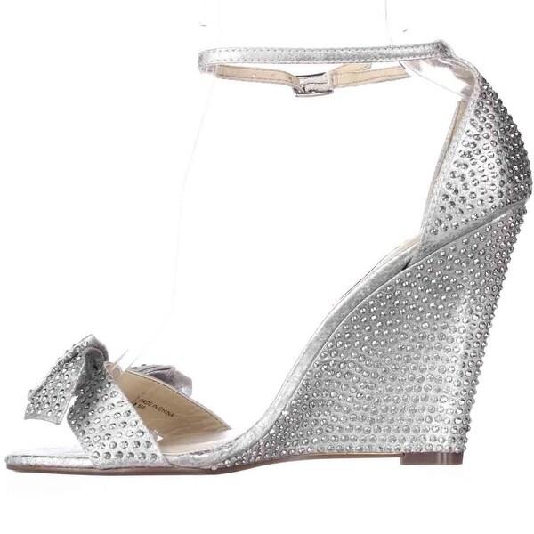 Betsey Johnson Womens Delancyy Open Toe Casual Platform Sandals