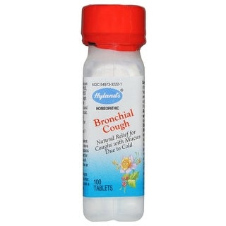 Hylands Homeopathic Bronchial Cough (100 Tablets)