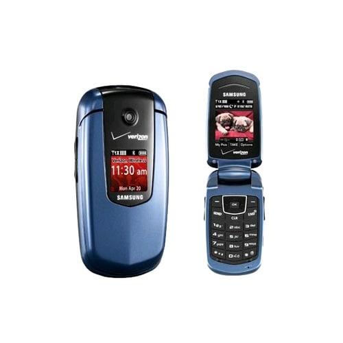 Samsung Smooth Flip SCH-u350 Replica Dummy Phone / Toy Phone (Blue) (Bulk Packag