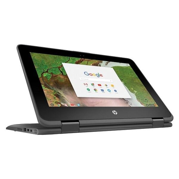 """Refurbished - HP Chromebook x360 Touch 11-ae027nr 11.6"""" Laptop N3350 1.10GHz 4GB 16GB ChromeOS"""