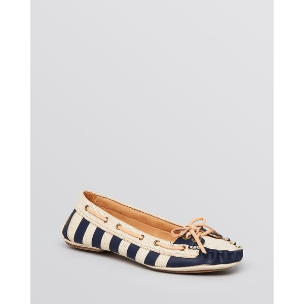 AERIN Womens SKIPPER Fabric Closed Toe Boat Shoes - 7