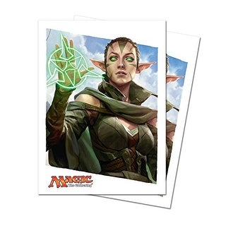 Magic: the Gathering - MTG Oath of the Gatewatch Nissa OGW Sleeves (80 Count) Deck Protectors