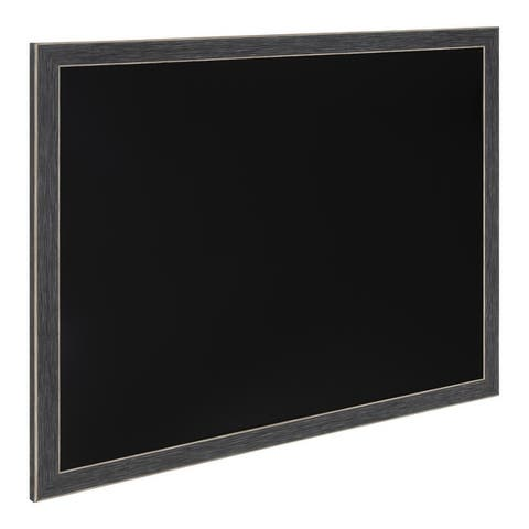 Black Framed Magnetic Chalkboard