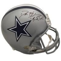 fda81c8c5 Deion Sanders Autographed Dallas Cowboys Replica Helmet Primetime JSA