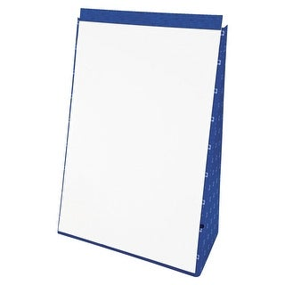 Ampad Evidence Unruled Tabletop Flip Chart with Port, 20 x 28-1/2 Inches, 20 Sheets, White