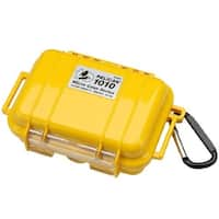 pelican 40028Y Pelican 1010 Micro Case w/Solid Lid - Yellow