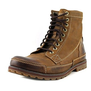 Timberland Earthkeepers Earthkeeper Men W Round Toe Leather Brown Boot