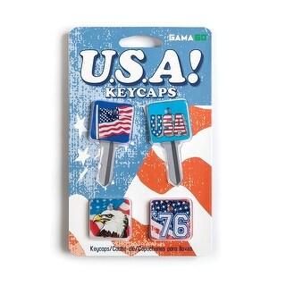 USA Key Caps: Set of 4 - Multi