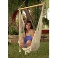 Sunnydaze Mayan Hammock Chair with Wood Spreader Bar & Hammock Stand - Thumbnail 0