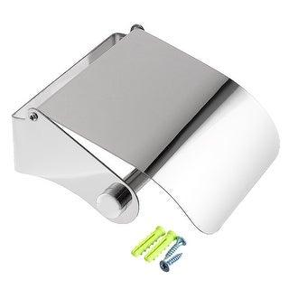 Stainless Steel Polished Finish Bathroom Tissue Dispenser Toilet Paper Holder