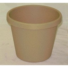 Akro-mils Classic Flower Pot Tan 8 Inch Pack Of 24 - 12008SANDS