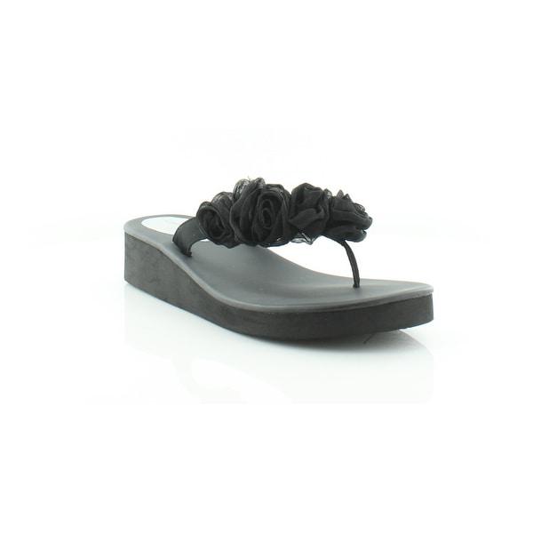 Nina Hella Women's Sandals & Flip Flops Black Luster