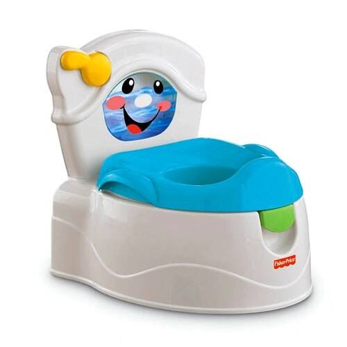 Fisher Price Learn-To-Flush Potty Learn-to-flush Potty