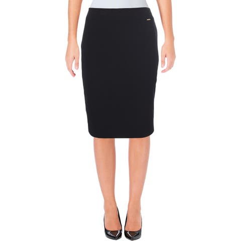Tahari ASL Womens Pencil Skirt Knee-Length Suit Seperates