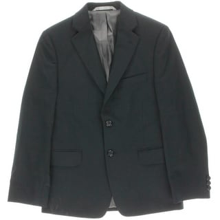 Nordstrom Boys Wool Blend Two-Button Suit Jacket - 10