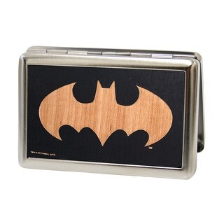 Batman Gw Black Business Card Holder