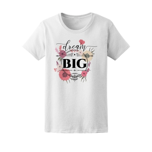 1eb93dc17 Shop Floral Big Dream Tee Women's -Image byhutterstock - Free Shipping On  Orders Over $45 - Overstock - 21652469