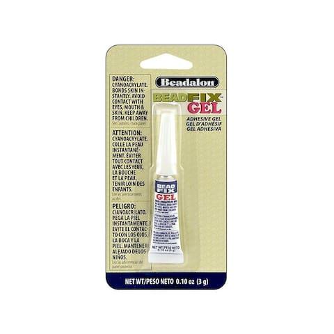 215a-050 beadalon beadfix gel adhesive 3gm