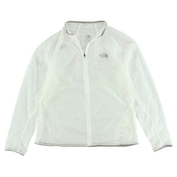 fe315591bcb90 Shop The North Face Womens BTN Jacket White - White Grey - XL - Free ...