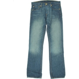 Levi's Mens Slim Sandblasted Boot Cut Jeans - 31/32
