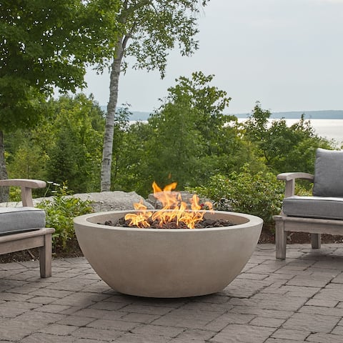 Alta Fog Large Natural Gas Fire Bowl by Jensen Co - 42 x 42 x 16