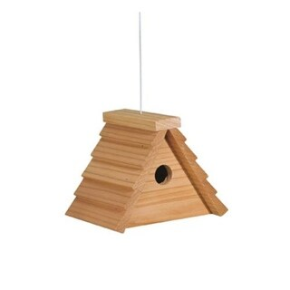 """North States 1639 Deluxe A-Frame Bird House 5/8"""" Thick"""