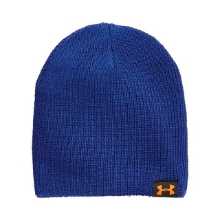 Under Armour Performance Basic Knit Beanie Cobalt Blue One Size