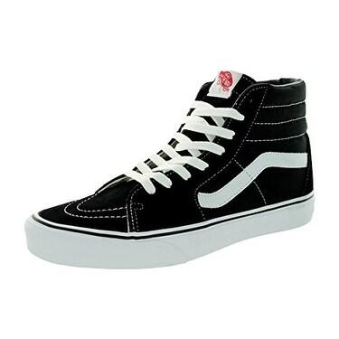 Vans Men's Sk8-Hi MTE Skate Shoe (11 D(M) US, Black/Black/White Canvas)