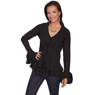 Scully Western Shirt Womens Honey Creek Long Sleeve Lightweight