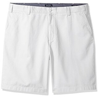 Nautica Men's Cotton Twill Flat Front Chino Short - Size 34