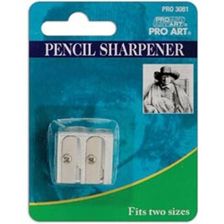 Pro Art Double Pencil Sharpener-