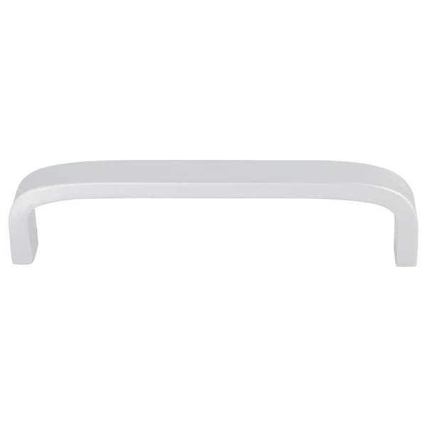 """Cabinet Handles Pull Space Aluminum Plating 3.8"""" Hole Center for Drawer Cabinet Cupboard Dresser Door, Silver Tone"""