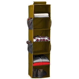 6-Shelf Sweater Organizer, Tan