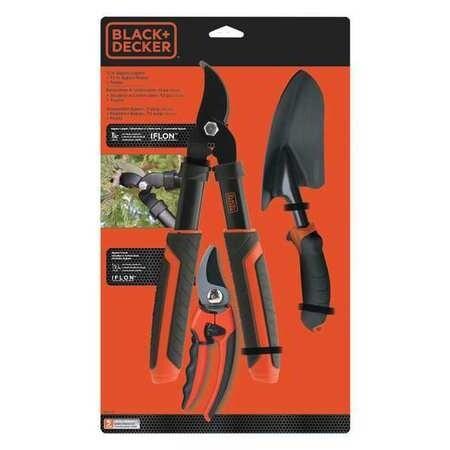 Black & Decker 3 Pc Garden Combo